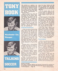 Manchester City vs Chelsea - 1974 - Page 2 (The Sky Strikers) Tags: manchester city chelsea maine road football league first division match magazine 10p