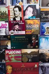Musique à l'infini (phonia20) Tags: musique music grande classic classique coffret ancien old vintage opera wagner puccini beethoven mozart pentax pentaxart couverture