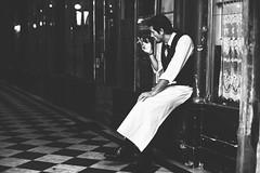 Backdoor Smoker (Fahad0850) Tags: leica m m240 street streetphotography streets paris