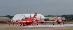 The Redarrows J78A0085 (M0JRA) Tags: redarrows riat airforce american usa airshows shows jets planes flying aircraft sky clouds rain weather