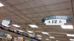 Here I stand, in aisle 12... (Retail Retell) Tags: superlo foods grocery store southaven ms desoto county retail former schnucks albertsons seessels corrugated metal decor interior seesselsbyalbertsons