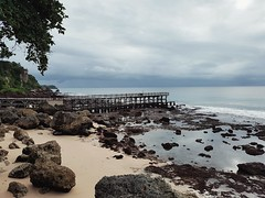 Beach Sea Sky Horizon Over Water Sand Water Cloud - Sky Nature Outdoors Tranquility Beauty In Nature No People Tree Scenics Day Low Tide Sand & Sea Bali, Indonesia Rocks Rocks And Water Clouds And Sky Bridge Photography (_donnita_) Tags: beach sea sky horizonoverwater sand water cloudsky nature outdoors tranquility beautyinnature nopeople tree scenics day lowtide sandsea bali indonesia rocks rocksandwater cloudsandsky bridgephotography