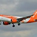 easyJet UK G-EZDN Airbus A319-111 cn/3608 Painted in