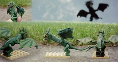 Lego custom Game of Thrones: Viserion (Lukas Customs) Tags: