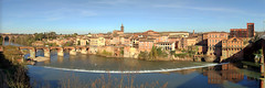 pano-Albi (xtrice) Tags: panoramique vacances albi tarn pont ubuntu rawtherapee hugin gimp
