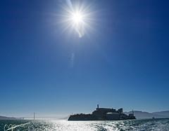 Alcatraz (eddiegarry) Tags: prison alcatraz pacific sun golden gate