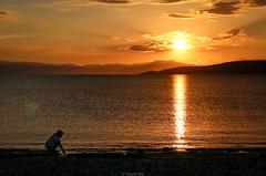 Sun chaser (Yannis Raf) Tags: canoneos70d canoneos sun sunset light beach flare sunflare greece greeklandscape