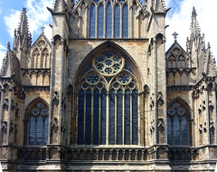 Lincoln Cathedral, east façade