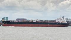 Esther Spirit. (PRA Images) Tags: estherspirit imo9282053 oilproductstanker tanker ships shipping therivermersey newbrighton