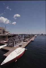 9 (Sayantan_Mukherjee_) Tags: boston canon1740l fujicolorc200 35mmfilm harbor sea