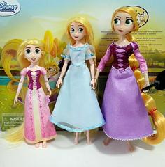 Hasbro & Disney Rapunzel dolls (@megot) Tags: disney rapunzel tangled doll hasbro disneydoll