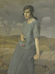 Harold Harvey, Clara, 1922 (geldenkirchen) Tags: painting portraitofalady portrait haroldharvey 1922 britishpainter