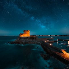 Socoa - Milkyway - France (jubu photographie) Tags: night color milkyway etoile sea canon 5dmk4 163528 landscapes