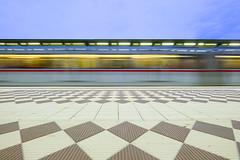 Train Motion (CoolMcFlash) Tags: train subway longexposure motion blur floor vienna austria station transport fujifilm xt2 street streetphotography light zug ubahn langzeitbelichtung bewegung bewegungsunschärfe boden wien österreich licht fotografie photography city stadt urban xf 1024mmf4 r ois