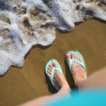 Sur la plage - On the beach thumbnail