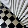 Black & White Rivalry (unclebobjim) Tags: villacavrois croix stripes checks mono confusion blackwhite rivalry