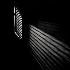 Battle for light (Diaffi) Tags: light shadows analog night nightshot selfdeveloped ishootfilm minimal monochrome squareformat