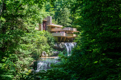 DSC04102 (williamiwas) Tags: pennsylvania fallingwater nature waterfall building wright