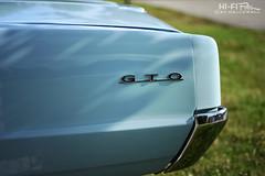 Pale Blue Light (Hi-Fi Fotos) Tags: pontiac gto badge chrome pale blue vintage 1960s tail detail emblem logo gm nikon d7200 50mm 14d dx hififotos hallewell