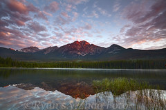 pyramidLake02 (dx247) Tags: banff jasper canada rockies mountain summer waterfall sunset sunrise canon 5dii lee big stopper gnd filter water river lake landscape