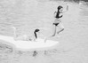 BLACK STAY & WHITE JUMP (AmoryLuz ♥ Love&Light) Tags: piscina blackwhite blancoynegro swimingpool swimmingpool