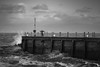a change in the weather (stocks photography.) Tags: michaelmarsh whitstable photographer photography seaside coast beach harbour achangeintheweather bw blackwhite monochrome