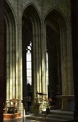 Rayonnement (BrigitteChanson) Tags: mont saintmichel normandie église abbatiale gothique lumière rayons