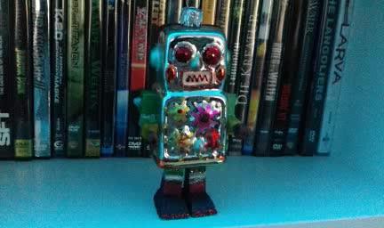 Dancing little Robot