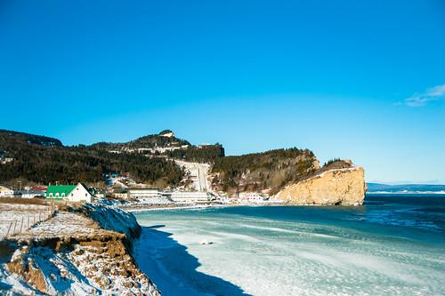 Cliffs at Percé