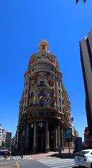 IMG_8160_stitch (AndyMc87) Tags: valencia stitch stitched building architecture street spain toyota prius clear blue sky bank banco canon eos 6d 2470 l travel holiday
