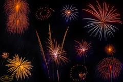 Fuegos Atificiales - 1 (PictureJem) Tags: fuegos artificiales fireworks night noche