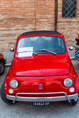 Vintage Vehicles at Montalto, June 2017 (MikePScott) Tags: ascolipiceno camera car fiat italia italy lemarche lens montaltodellemarche nikon2470mmf28 nikond800 transport