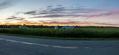 Un autre petit couché de soleil (sebastiencadorette) Tags: sunset sun clouds sky hdr panorama