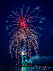 Harbor Springs Fireworks (EXPLORE) (ChristineDarnell) Tags: cities fireworks harborsprings july4th michigan harborspringsmichigan canon canoneos5dmarkiii canonef24105mmf4lisusm christinedarnell christinedarnellphotography explore