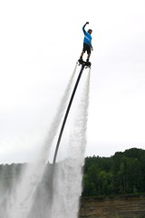 Up, Up and Away (Cindy's Here) Tags: upupandaway flyboard flyboarding kamriver thunderbay ontario canada canon 52in2017challenge 5 liquid