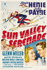 Sun Valley Serenade (1941, USA) - 01 (kocojim) Tags: publishing miltonberlelynnbari kocojim johnpayne glennmiller poster sonjahenie nicholasbrothers film advertising illustration motionpicture movieposter movie