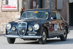 Mille Miglia, Gubbio 2017 (MikePScott) Tags: aureliab20gt2500ivserie camera car events gubbio italia italy lancia millemiglia nikon28300mmf3556 nikond600 transport umbria