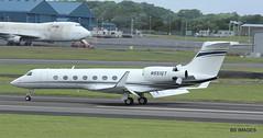 N551GT Gulfstream G550,Glasgow Prestwick 24/6/17 (BS Images.) Tags: airport aircraft aviation ayrshire egpk glasgowprestwick gpa prestwick prestwickairport pik southayrshire bizjet us n551gt