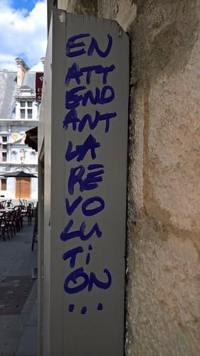 """""""En attendant la révolution"""" Grenoble 2017"""