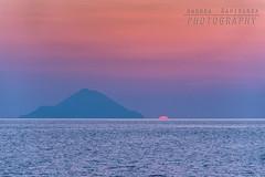 Almost gone (Andrea Rapisarda) Tags: sunset tramonto filicudi eolie sicilia sicily seascape italia nikon d750 ©allrightsreserved sun dusk