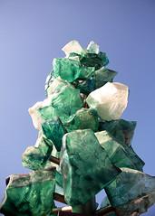 DSC_0292 (Aaron A Baker) Tags: glass green sky analogous tower piller fragile