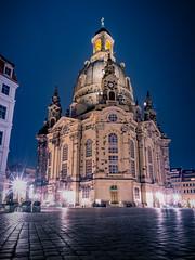 Frauenkirche Dresden (Blende18.2) Tags: dresden city stadt frauenkirche longexposure langzeit belichtung kirche church night nacht nachtaufnahme trip