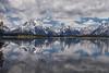 The Tetons across Jackson Lake (mghornak) Tags: grandtetonnationalpark grandtetons mountains jacksonlake clouds water reflection june2017 canon canoneos5dmarkii landscape