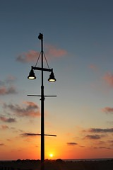 Street Lamp - No Competition (Photogioco) Tags: sunsets mare mediterraneo mediterraneansea fishingport red oldcity orange sea beautiful boats lifestyle lights
