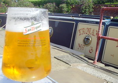 San Miguel Beer at Eanam Wharf, Blackburn (Tony Worrall) Tags: add tag ©2017tonyworrall images photos photograff things uk england food foodie grub eat eaten taste tasty cook cooked iatethis foodporn foodpictures picturesoffood dish dishes menu plate plated made ingrediants nice flavour foodophile x yummy make tasted meal ale lager drink outside booze glass sanmiguelbeerateanamwharf blackburn canal sanmiguel