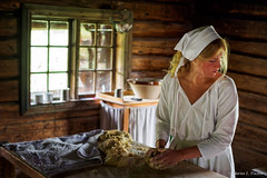 P7290170-Edit-Edit.jpg (marius.vochin) Tags: folklore makingbread ethnographic oneman travel indoor woman tradition scandinavia oslo trip cooking kitchen working norway no