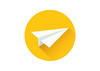 Paper Plane Flat Vector Icon (superawesomevectors) Tags: flat icon paper paperplane plane