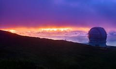 Gran Telescopio Canarias (free3yourmind) Tags: grand telescope canarias clouds cloudy sunset fog mountain outdoor colorful canary islands spain lapalma observatory