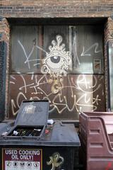 Ojo (Daquella manera) Tags: chicago illinois eye ojo street art paste up poster arte callejero