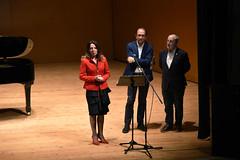 Intervención de Ilona Timchenko, presidenta de Peregrinos Musicales